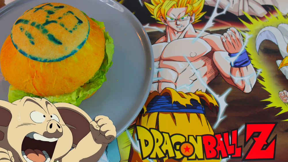 RDG #12 Le Burger à base de Oolong dans Dragon Ball Z !.png